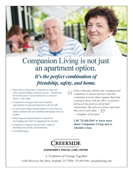 companion living flyer